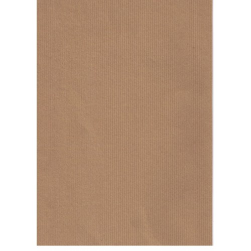 Ribbed Brown Kraft 300gsm Recycled Card A4 x 50 sheets