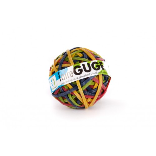 Fairtrade Rubber Band Ball assorted colours