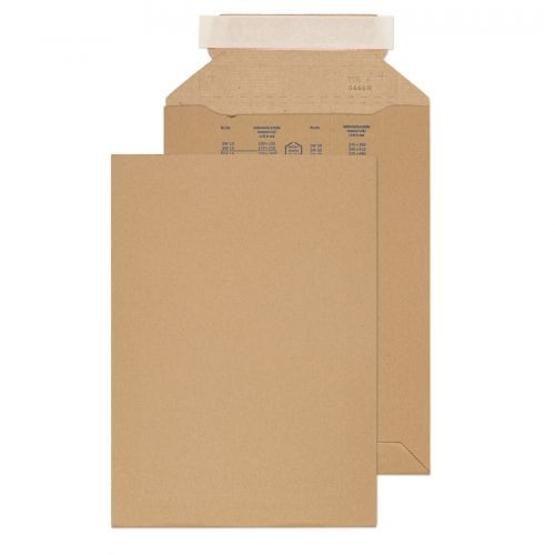 C4 Corrugated Postal Pack 353x250mm pack of 100