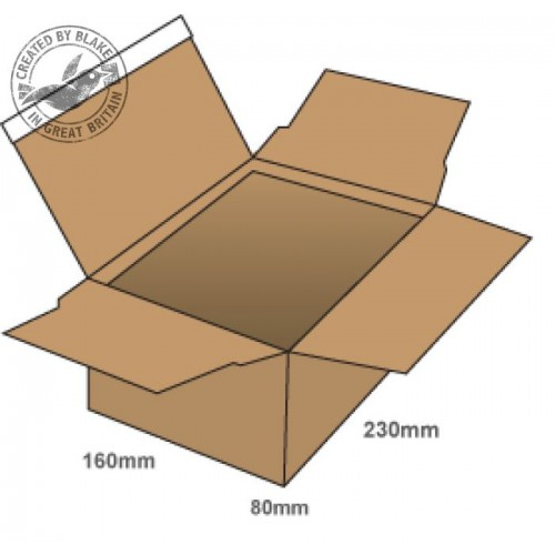 Medium One Touch Postal Boxes 230×160×80mm pack of 20