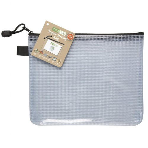 ECO ECO Recycled Super Strong Zip Bags A4 +