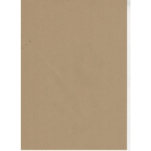 Light Brown Ribbed 90gsm Recycled Kraft Paper A4 x 100 sheets