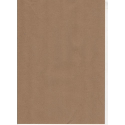 Brown Paper Ribbed 90gsm Recycled Kraft A4 x 100 sheets