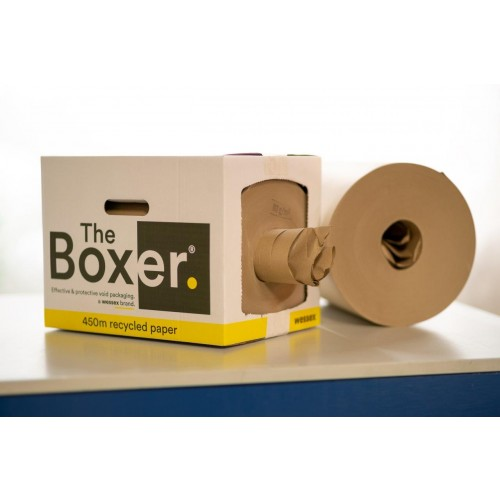 The Boxer Recycled Wrapping Paper and Void fill x 450m!
