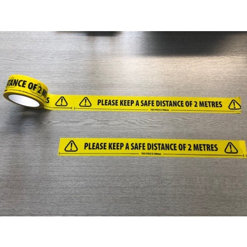 Safe Distancing Tape 50mm x 33M