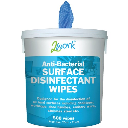 Disinfectant Wipes Tub 500