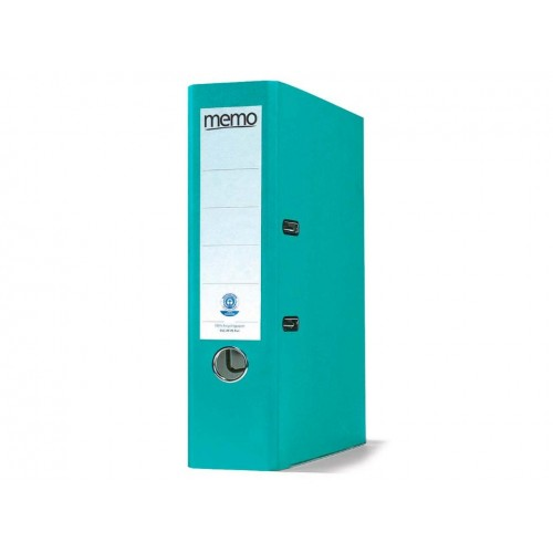 Recycled Lever Arch Files Turquoise x 10
