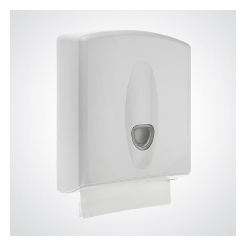 Universal Dispenser for C / V / Z / M Fold Hand Towels