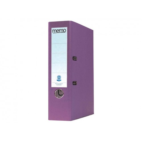 Recycled Lever Arch Files Violet x 10
