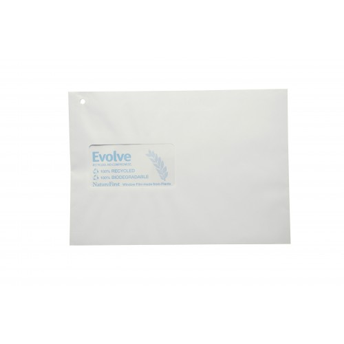 Recycled White C5 Window Envelopes self seal pack 500