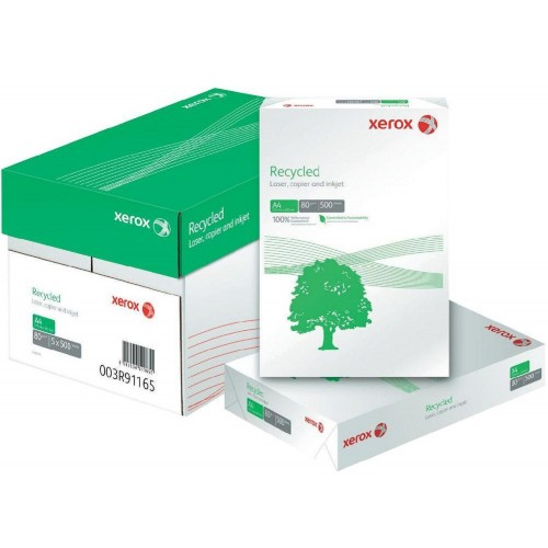 Recycled Off White/Grey Copier Paper A3 80gsm - single ream
