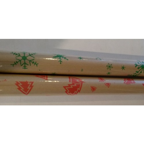 Recycled Cristmas Wrapping Paper 70cm x 5 metres