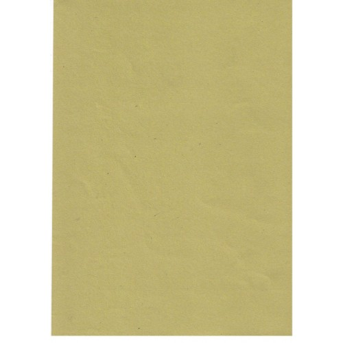 Manilla Yellow Recycled Sugar Paper 100gsm A4 x 100