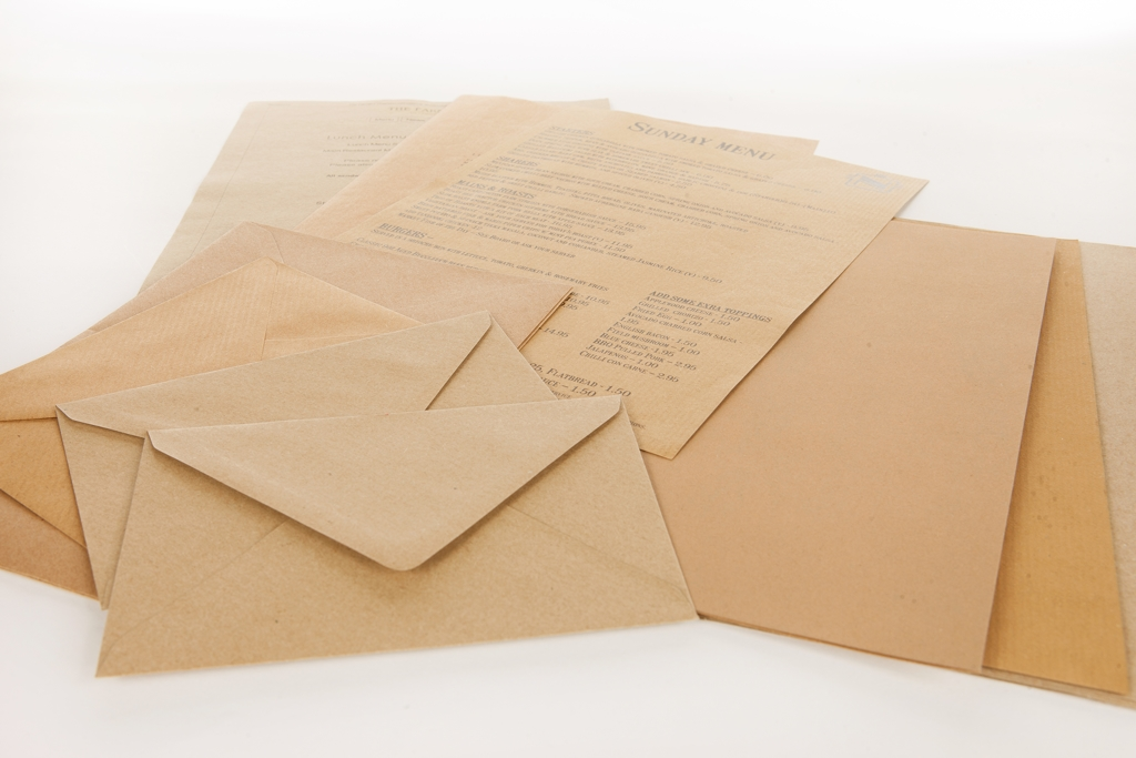 Brown Papers & Card