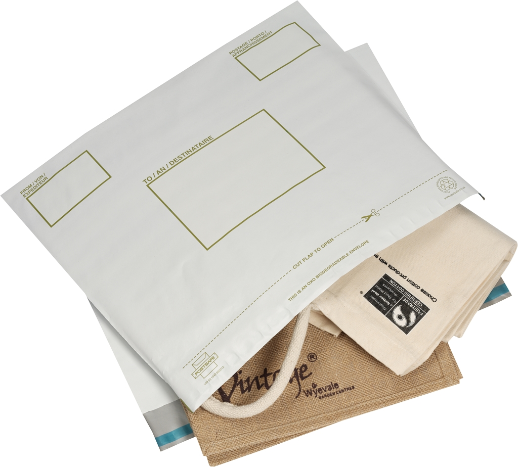 Bio Mailing Pouches & Labels