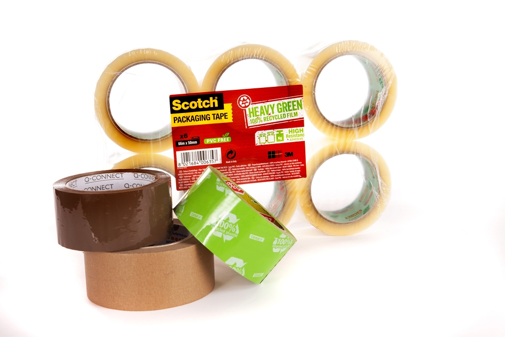 Eco Tape, Recycled Tissue & Brown Paper