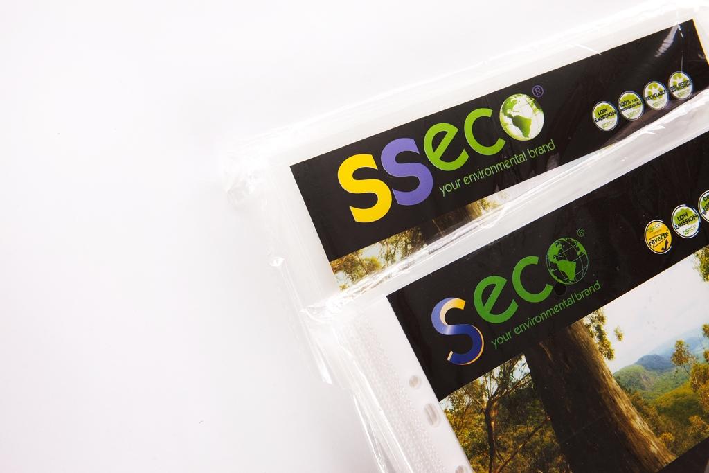 Bio & Recycled Plastic Pockets & Folders