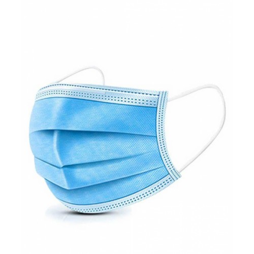 Face mask (pack of 50) 3  ply surgical masks