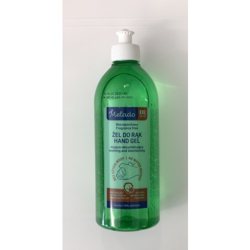 70% Alcohol Hand Sanitising Gel 500ml Pull Top Bottle