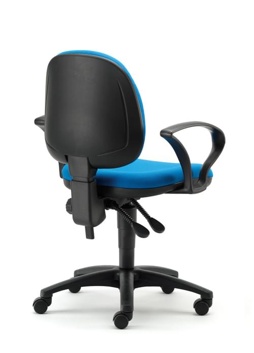 TW02 MED BACK OP CHAIR WITH ARMS COLOUR: TW02
