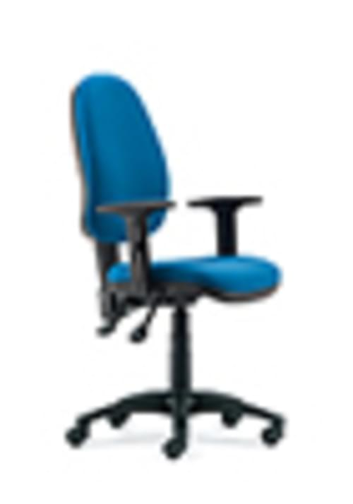 TW06 HIGH OP CHAIR WITH ADJUSTABLE ARMS COLOUR: TW06