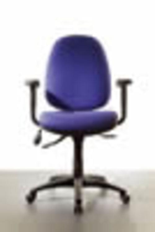 SOLAR CHAIR H-BACK IND MECH SEAT SLIDE  SOL4MB  COLOUR: SOL4MB