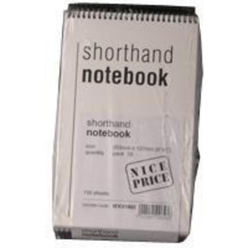 SPIRAL NOTE BOOK 150 LEAF PACK OF 10