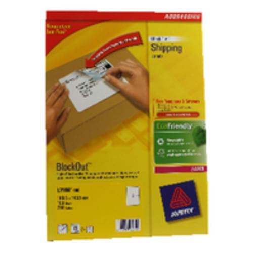LABELS 2 PER SHEET BOXED 100S  L7168  06004-51622