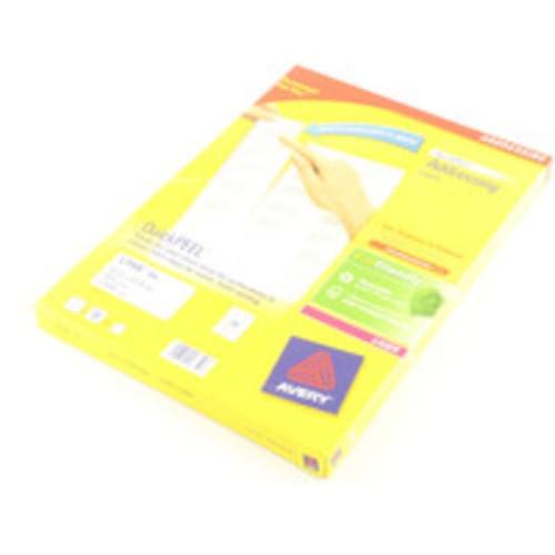 LABELS 24 PER  SHEET BOXED 100S  L7159  51626
