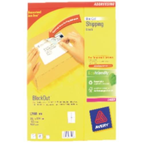 LABELS 4 PER SHEET BOXED 100S  L7169  52854