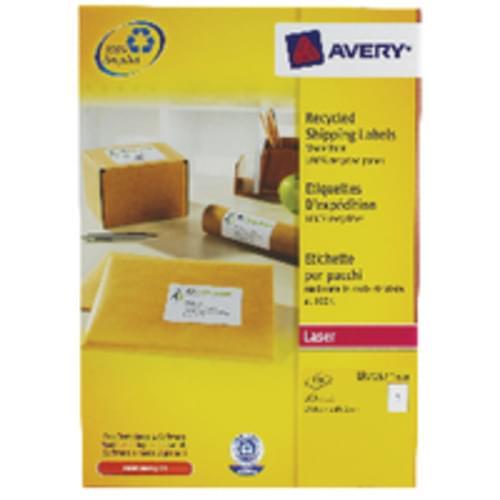 LABELS 1 PER  SHEET BOXED 100S  L7167  51622