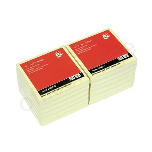 STICKY NOTES 76X76  3X3  YELLOW
