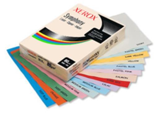 COPIER PAPER SYMPHONY A4 80GSM YELLOW PK500 003R93975