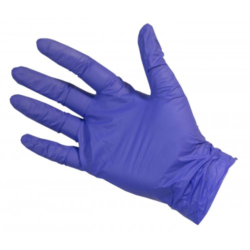 Disposable Blue Nitrile gloves Size Large box 100