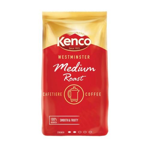 Kenco Westminster Medium Roast & Ground Cafetiere Coffee 1kg