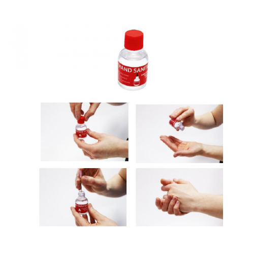 Hand Sanitizer - Family Pack - 180ml (6 x 30ml Bottles)