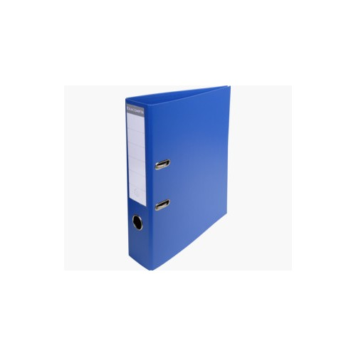 EXACOMPTA PREMTOUCH PVC LEVER ARCH FILE, 70MM SPINE, 2 RING, A4 - DARK BLUE