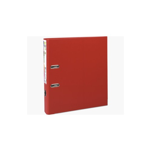 EXACOMPTA PREMTOUCH PP LEVER ARCH FILE, A4 MAXI, 50MM SPINE - RED