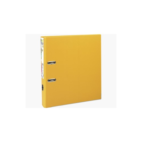 EXACOMPTA PREMTOUCH PP LEVER ARCH FILE, A4 MAXI, 50MM SPINE - YELLOW