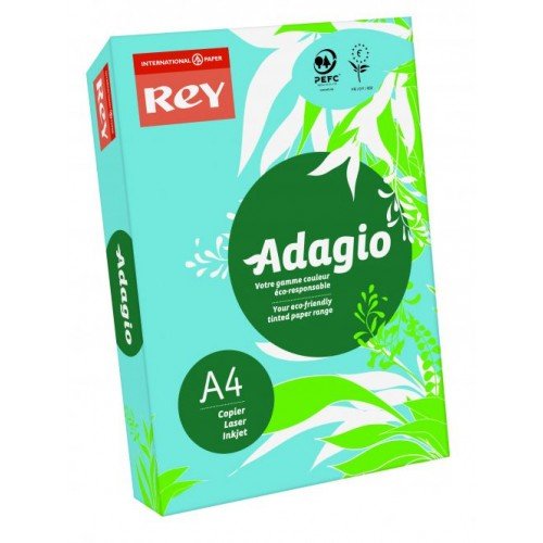 Adagio Bright Blue A4 Coloured Card 160gsm (Pack of 250)