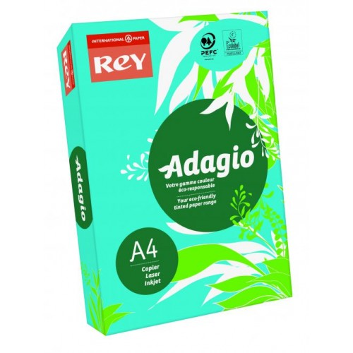 Adagio Intense Deep Blue A4 Coloured Card 160gsm (Pack of 250)