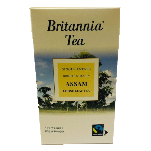 Britannia Tea Assam Loose Leaf Tea 125g Boxed