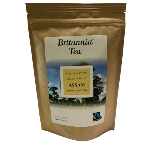 Britannia Tea Assam Loose Leaf Tea 125g Fairtrade