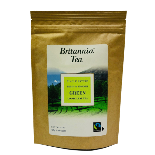 Britannia Tea - Green Loose Leaf Tea 125g Fairtrade