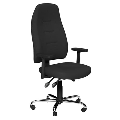 Operators Positura Swivel Chair, Black