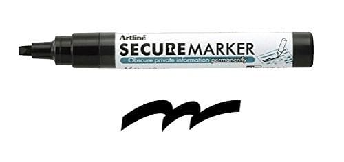 Artline Secure Redacting Marker
