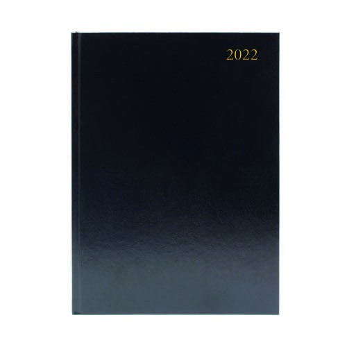 Desk Diary - 2 Page Per Day (A4/A5) available in Blue, Burgundy or Black