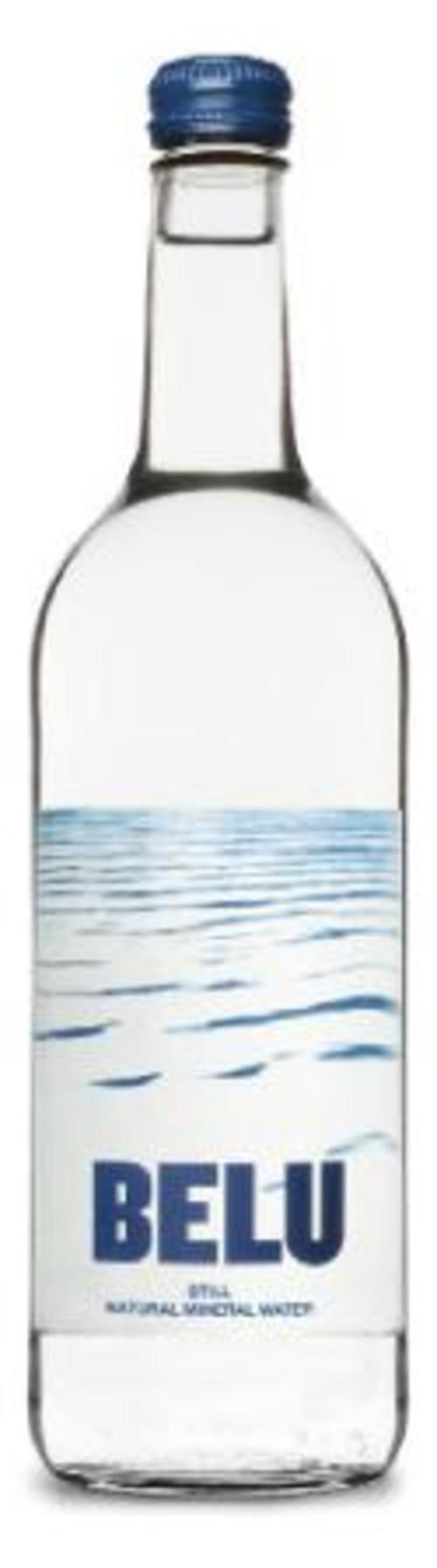 Belu 33cl still water clear glass bottle - pack 24
