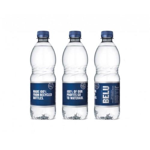 Belu 50cl still water clear plastic bottle - pack 24