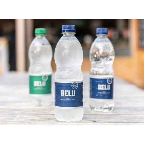 Belu 50cl sparkling water green top plastic bottle - pack 24
